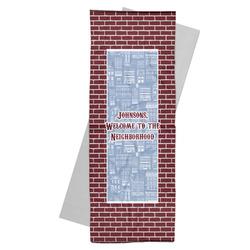Housewarming Yoga Mat Towel (Personalized)