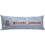 Housewarming Body Pillow Case (Personalized)