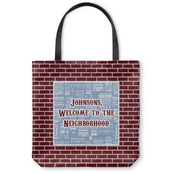 Housewarming Canvas Tote Bag (Personalized)