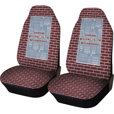 Housewarming Car Seat Covers (Set of Two) (Personalized)