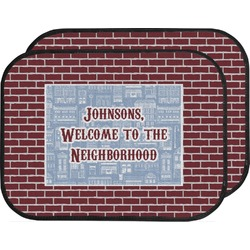 Housewarming Car Floor Mats (Back Seat) (Personalized)