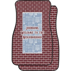 Housewarming Car Floor Mats (Front Seat) (Personalized)