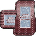 Housewarming Car Floor Mats (Personalized)