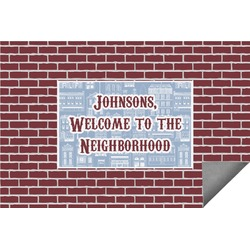 Housewarming Indoor / Outdoor Rug - 6'x9' (Personalized)