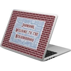 Housewarming Laptop Skin - Custom Sized (Personalized)