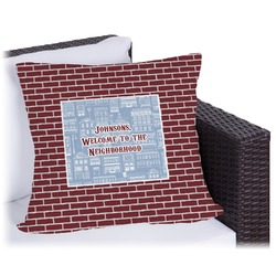Housewarming Outdoor Pillow (Personalized)