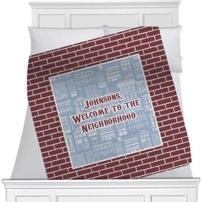 Housewarming Minky Blanket (Personalized)