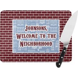 Housewarming Rectangular Glass Cutting Board (Personalized)