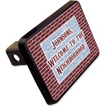"""Housewarming Rectangular Trailer Hitch Cover - 2"""" (Personalized)"""