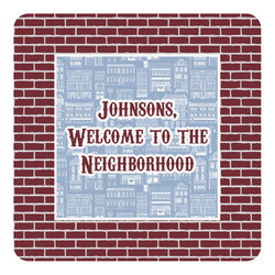 Housewarming Square Decal - Large (Personalized)