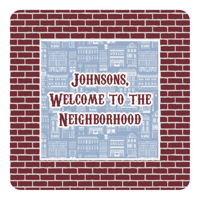 Housewarming Square Decal (Personalized)