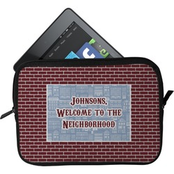 Housewarming Tablet Case / Sleeve (Personalized)
