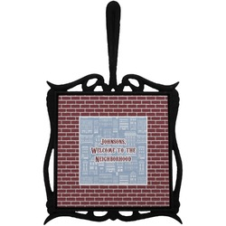 Housewarming Trivet with Handle (Personalized)