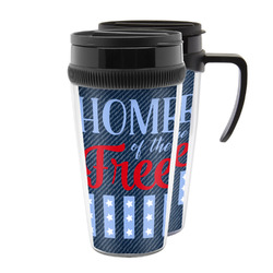American Quotes Acrylic Travel Mugs (Personalized)