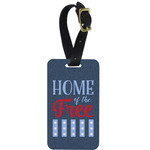 American Quotes Metal Luggage Tag