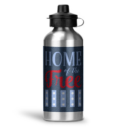 American Quotes Water Bottle - Aluminum - 20 oz (Personalized)