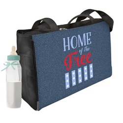 American Quotes Diaper Bag (Personalized)