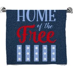 American Quotes Bath Towel (Personalized)