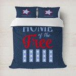 American Quotes Duvet Cover