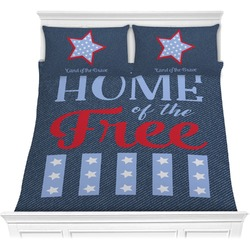 American Quotes Comforter Set (Personalized)