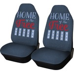 American Quotes Car Seat Covers (Set of Two) (Personalized)