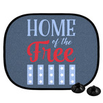 American Quotes Car Side Window Sun Shade (Personalized)