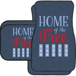 American Quotes Car Floor Mats (Personalized)