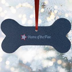 American Quotes Ceramic Dog Ornaments