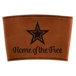 American Quotes Leatherette Mug Sleeve (Personalized)
