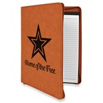 American Quotes Leatherette Zipper Portfolio with Notepad (Personalized)