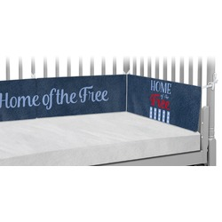 American Quotes Crib Bumper Pads (Personalized)