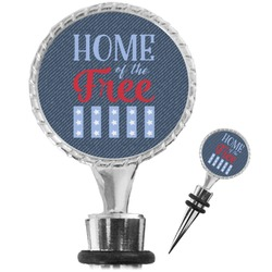 American Quotes Wine Bottle Stopper (Personalized)