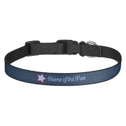 American Quotes Dog Collar (Personalized)