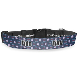 American Quotes Deluxe Dog Collar (Personalized)