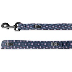 American Quotes Deluxe Dog Leash (Personalized)