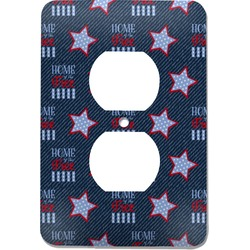 American Quotes Electric Outlet Plate (Personalized)