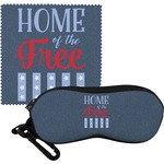 American Quotes Eyeglass Case & Cloth (Personalized)