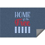 American Quotes Indoor / Outdoor Rug (Personalized)