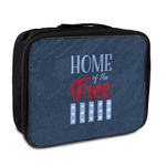 American Quotes Insulated Lunch Bag (Personalized)