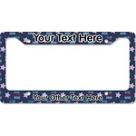 American Quotes License Plate Frame (Personalized)