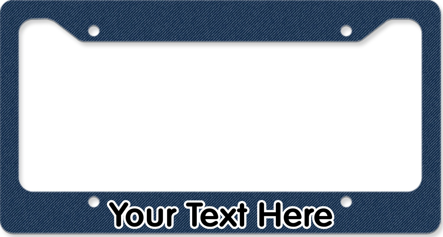 American Quotes License Plate Frame Personalized You Customize It
