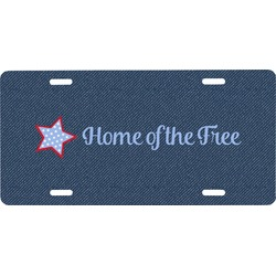 American Quotes Front License Plate (Personalized)