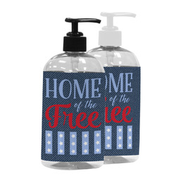 American Quotes Plastic Soap / Lotion Dispenser (Personalized)