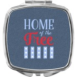 American Quotes Compact Makeup Mirror (Personalized)