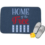 American Quotes Memory Foam Bath Mat (Personalized)