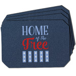 American Quotes Dining Table Mat - Octagon
