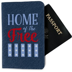 American Quotes Passport Holder - Fabric (Personalized)
