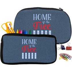American Quotes Pencil / School Supplies Bag (Personalized)