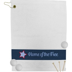 American Quotes Golf Towel (Personalized)