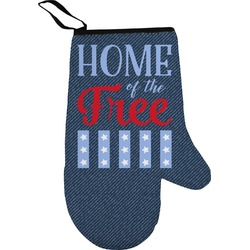 American Quotes Oven Mitt (Personalized)